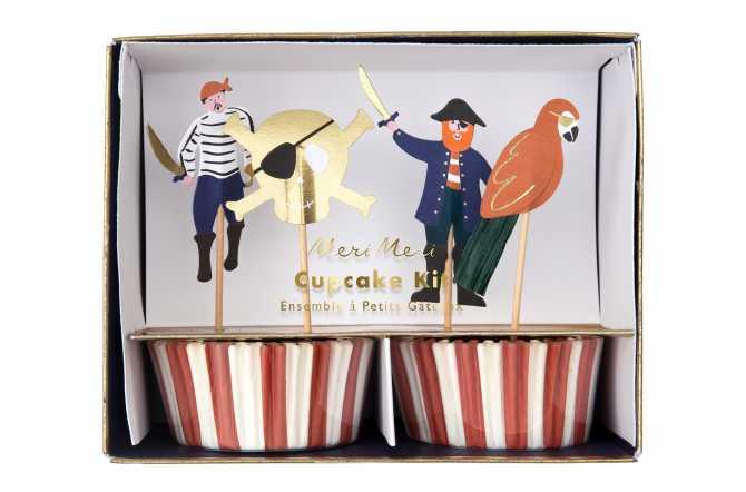 cupcakes Pirate et capitaine crochet