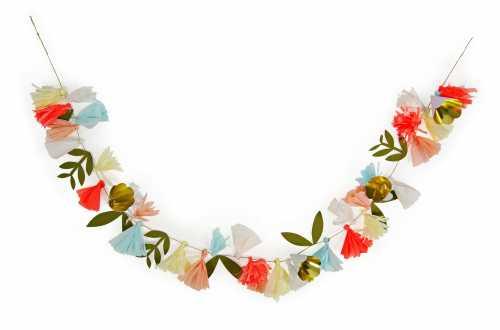 Grande guirlande 50 fleurs assortis