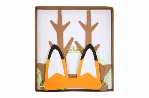 8 Masques de déguisements d'animaux de la forêt – Aventurier