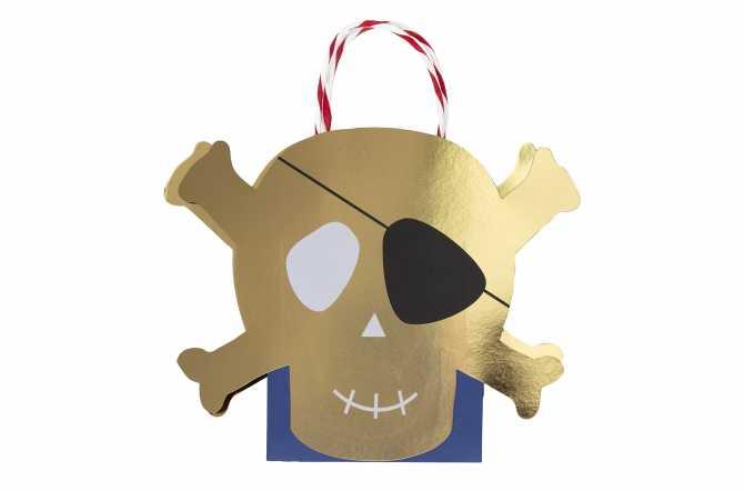 Sacs cadeaux Pirate