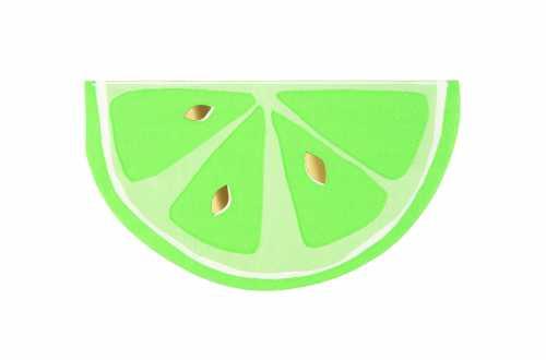 16 Petites serviettes agrumes - Fruits