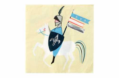 16 Petites serviettes - Chevalier