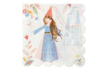 16 Grandes serviettes - Princesse Magique