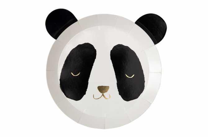 8 Assiettes - Panda