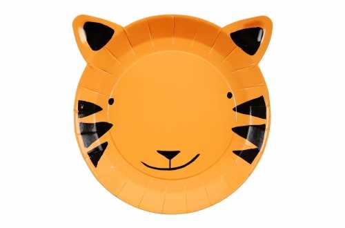 12 Grandes assiettes - Tigre