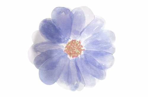 8 Petites assiettes - Fleurs de printemps