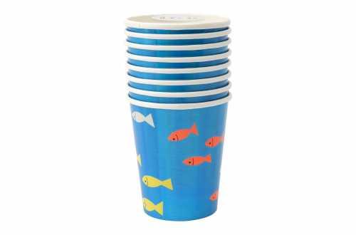 8 Gobelets - Sous la Mer
