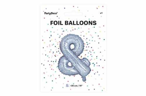 1 Petit ballon & holographique - 35 cm