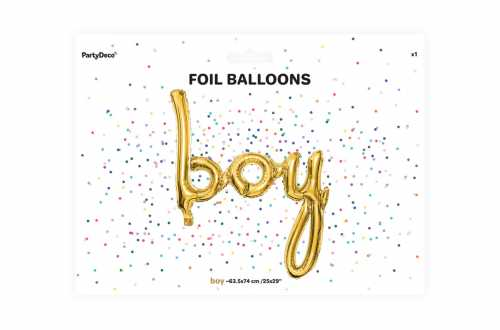 Ballon boy rose - 63,5 x 74 cm