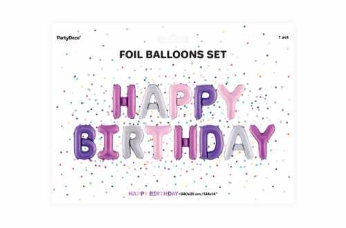 Ballon HAPPY BIRTHDAY - 340 x 35 cm