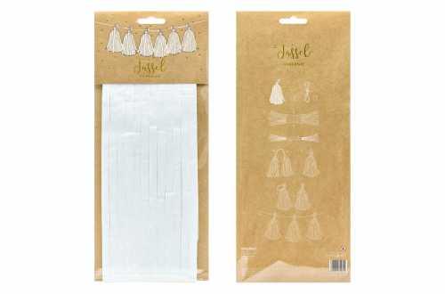 Kit de guirlande tassel blanche