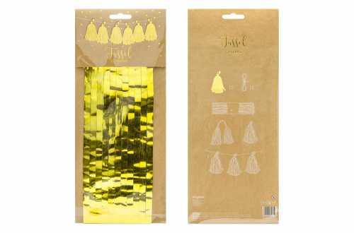 Kit de guirlande tassel dorée