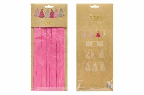 Kit de guirlande tassel nuances de rose