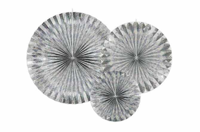3 Rosaces décoratives - holographiqu