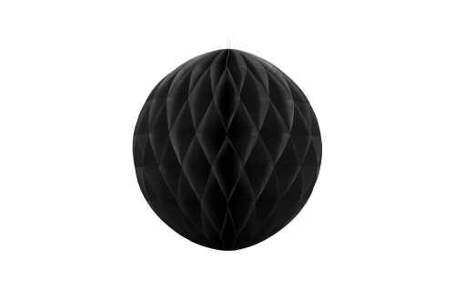 Boule alvéolées décoratives - noir
