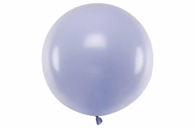 Grand ballon violet pastel - 100 cm