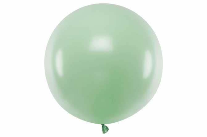 Grand ballon vert pastel - 100 cm