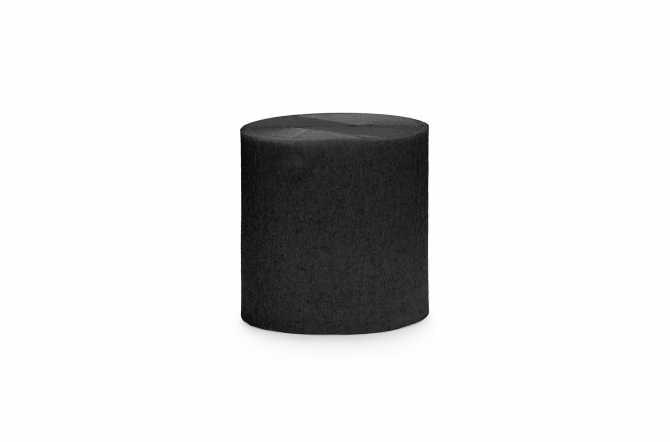 4 Rouleaux de papier crépon - noir