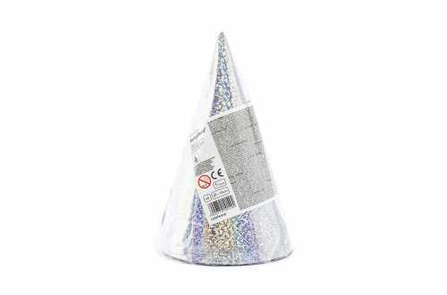 6 chapeaux de fête - holographique