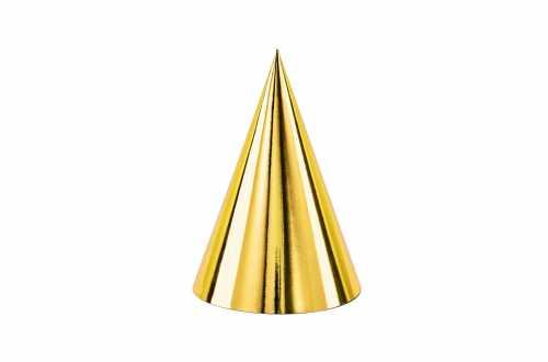 6 Chapeaux de fête - doré