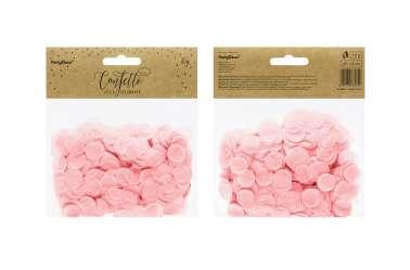 Confettis cercle - rose pastel