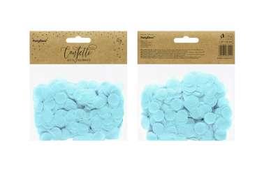 Confettis cercle - bleu pastel