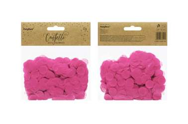 Confettis cercle - rose fuchsia