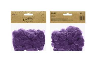 Confettis cercle - violet