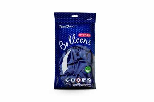 10 Ballons de baudruche - Bleu outremer pastel