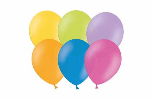 10 Ballons de baudruche - assortiments de couleurs