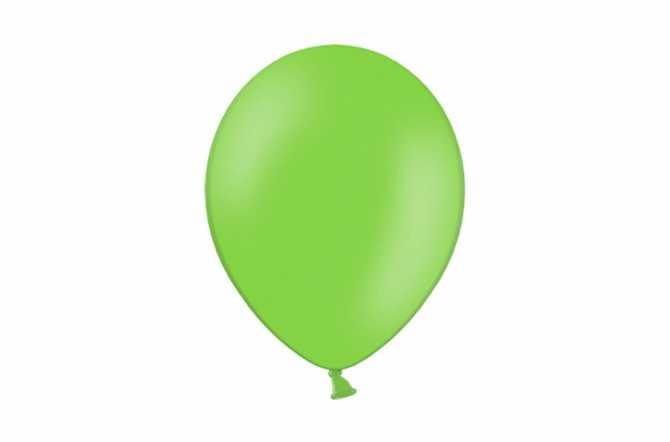 10 Ballons de baudruche - vert citron pastel