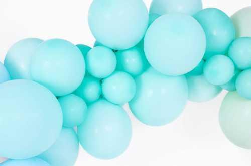 10 Ballons de baudruche - menthe pastel