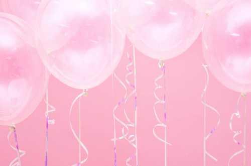 6 Ballons transparents