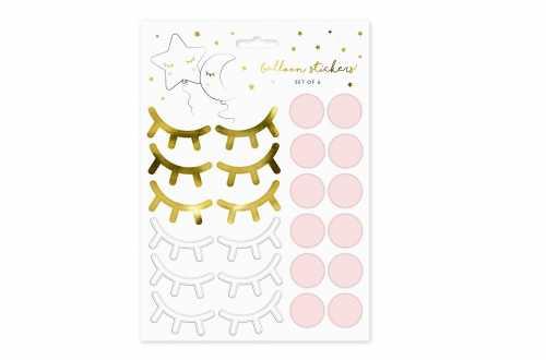 Planches de stickers – yeux, blushe et étoile