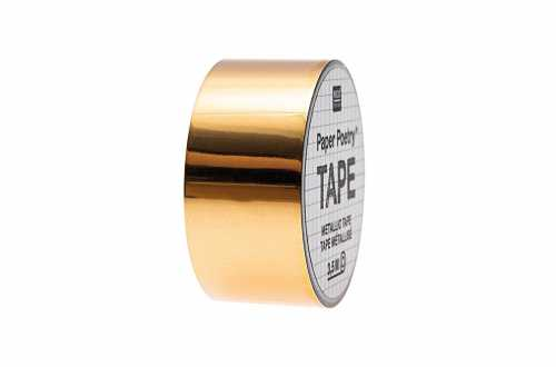 Masking tape métallisé doré