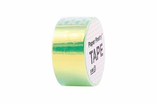 Masking tape métallisé arc en ciel vert
