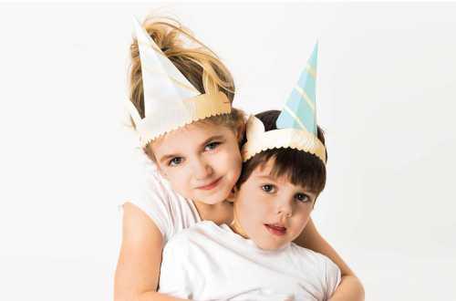 6 Chapeaux bandeaux Licorne