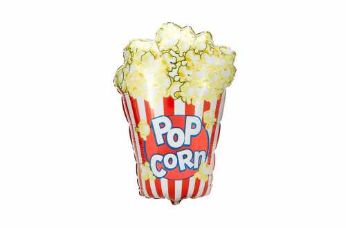 Grand ballon aluminium Pop-corn - 97 cm