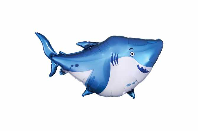 Grand ballon aluminium Requin – 81 cm