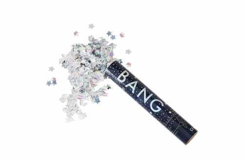 Canon à confettis – Etoiles holographiques