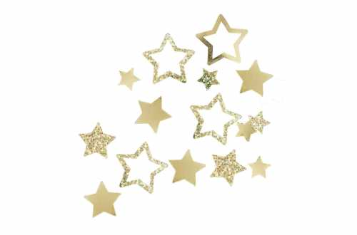 Confettis de table – Etoile doré