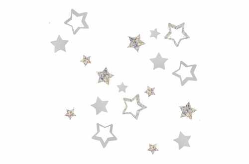 Confettis de table – Etoile pailletée