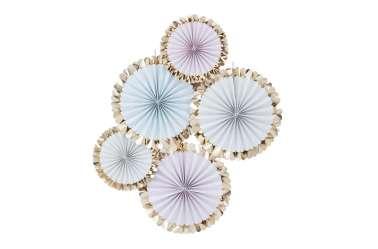 5 Rosaces décoratives – Mix pastel