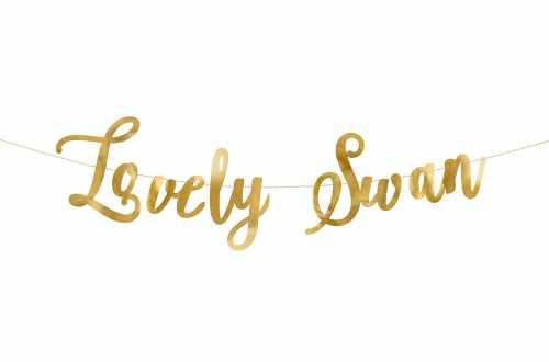 Guirlande lovely swan - cygne