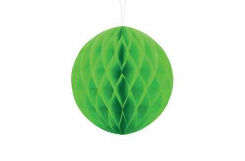 Boule alvéolée décorative - vert