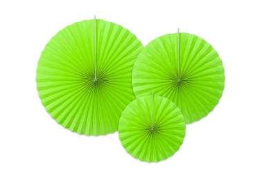 3 Rosaces décoratives - vert
