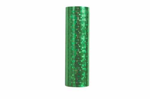 Serpentins – holographiques vert à pois