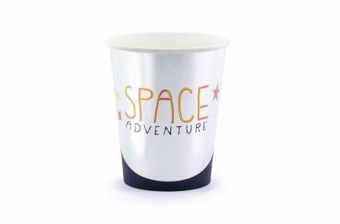 6 Gobelets - Espace et Cosmonaute