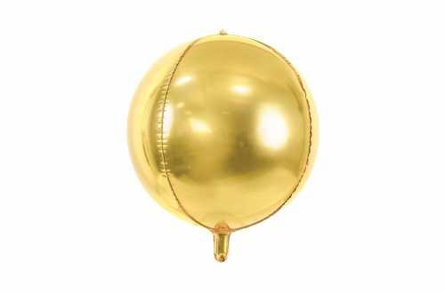 Ballon rond ombré doré - 40 cm