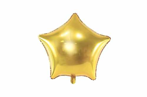 Ballon étoile doré - 48 cm